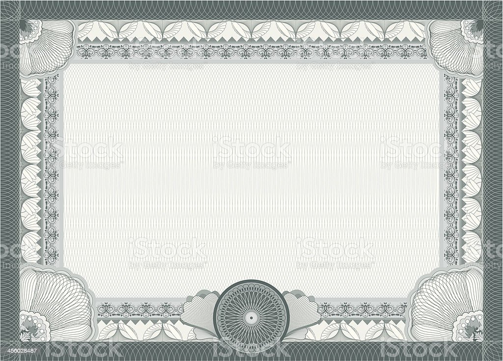 Certificate blank template stock vector art 456028487 istock certificate blank template royalty free stock vector art yadclub Image collections