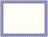 Certificate Border