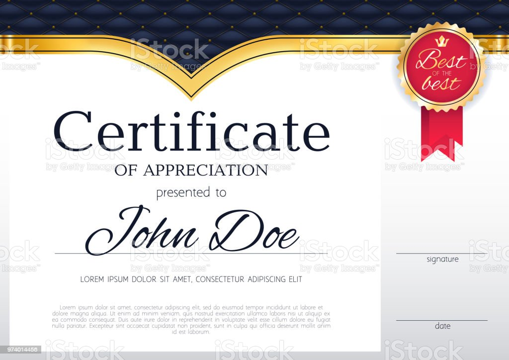 certificate design background template royalty free certificate design background template stock vector art