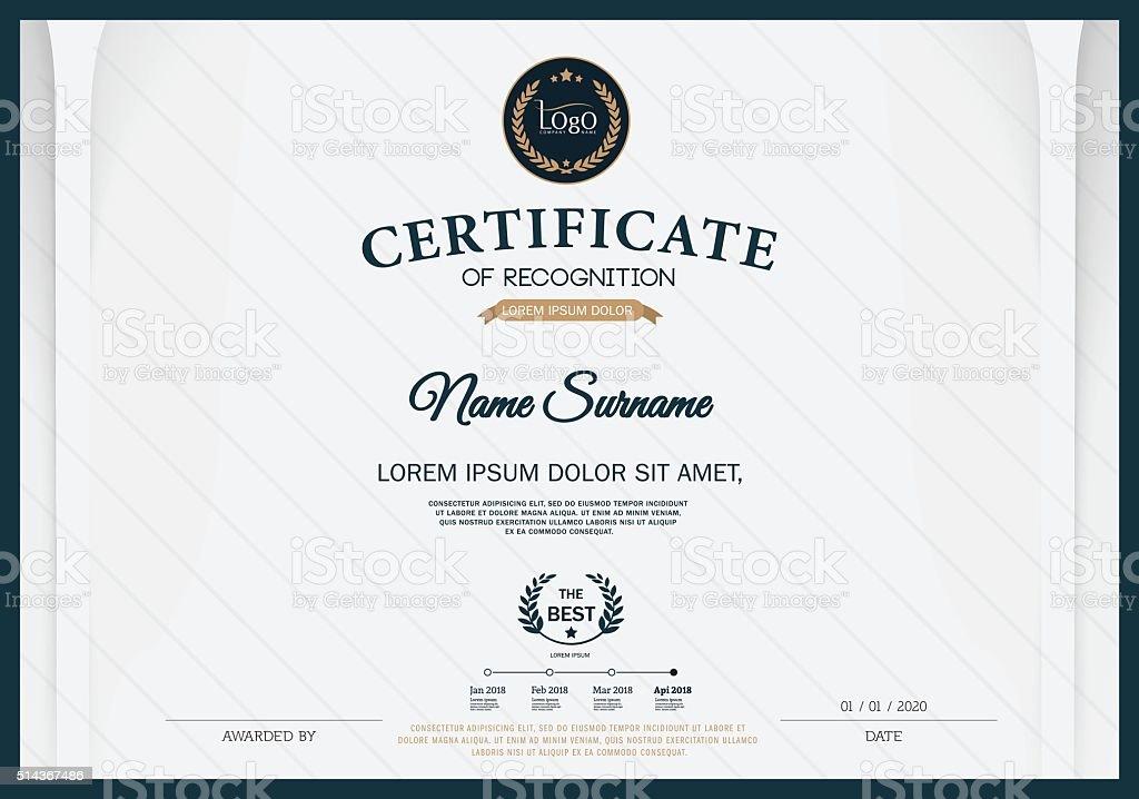 award award ribbon banner sign calligraphy certificate certificate design template