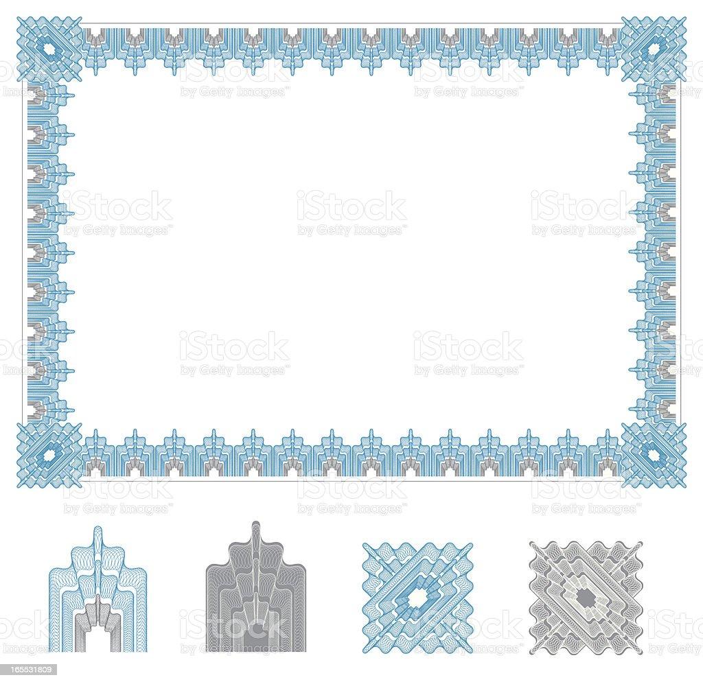 券卒業証書フレーム - アメリカ通貨のベクターアート素材や画像を多数ご