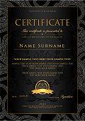 Certificate of Achievement, coupon, award, winner certificate