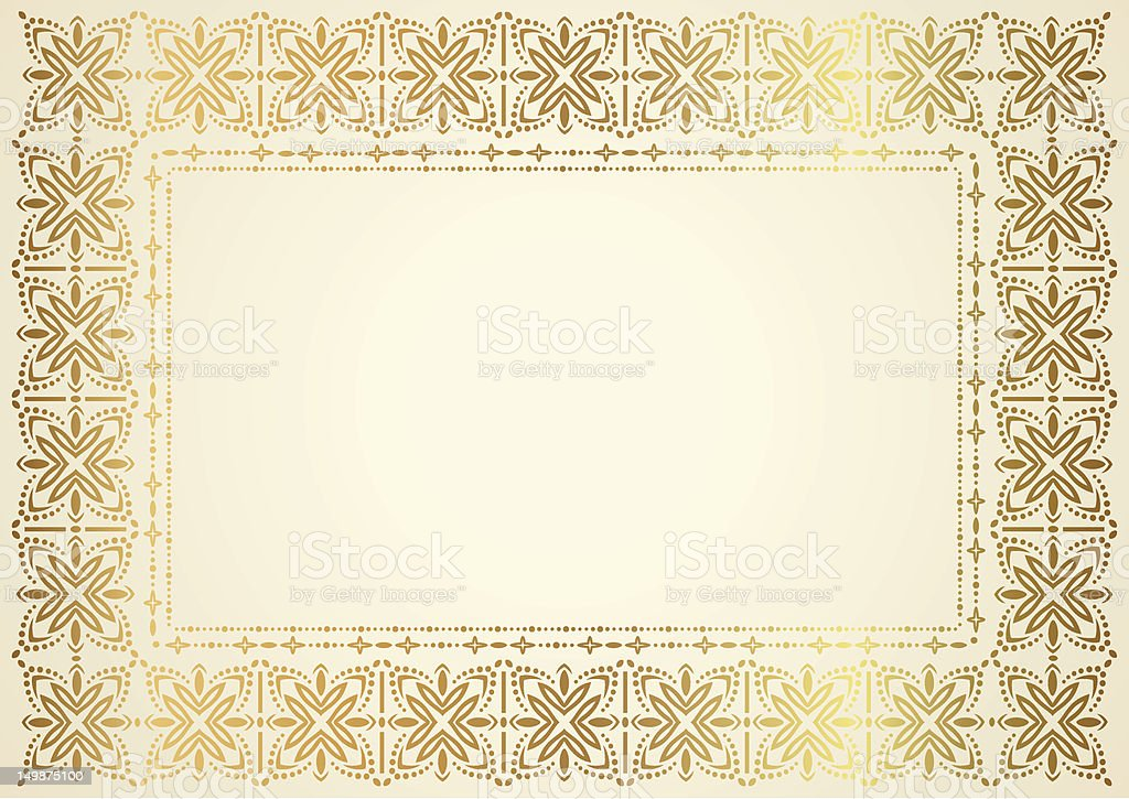 Certificate Diploma Template With Gild Border Gift Coupon Background ...