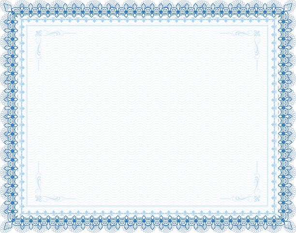Royalty Free Certificate Border Clip Art, Vector Images ...