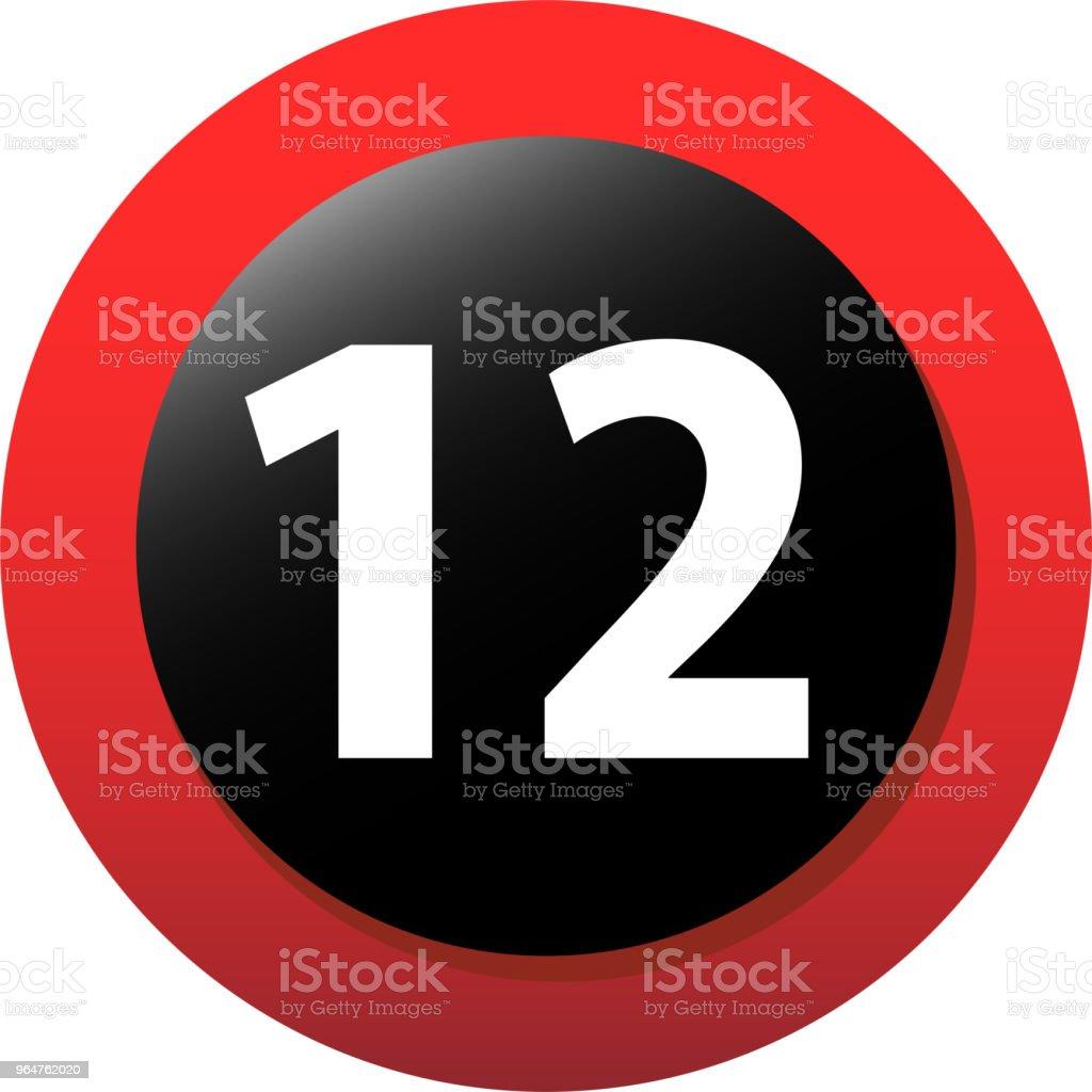 12 certificate mark royalty-free 12 certificate mark stock vector art & more images of alarm