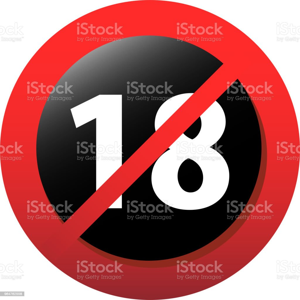 18 certificate mark royalty-free 18 certificate mark stock vector art & more images of alarm