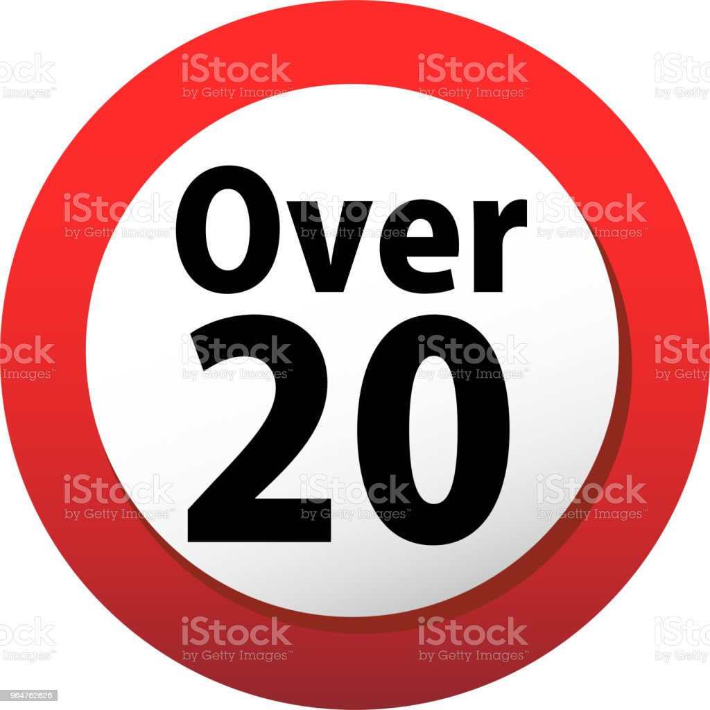 20 certificate mark royalty-free 20 certificate mark stock illustration - download image now