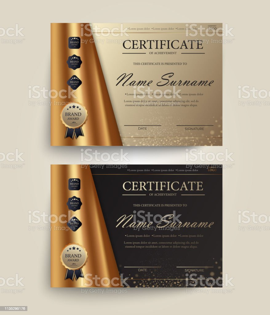 Certificate of appreciation, award diploma design template....