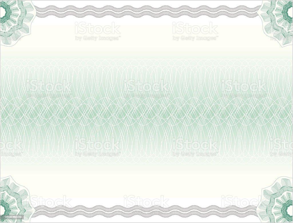 Certificate or Diploma Background vector art illustration