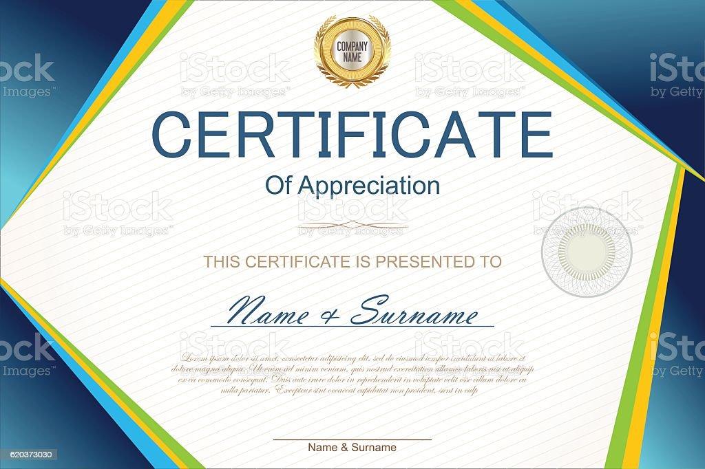 Modelo de certificado ou diploma de modelo de certificado ou diploma de - arte vetorial de stock e mais imagens de acção da bolsa de valores royalty-free