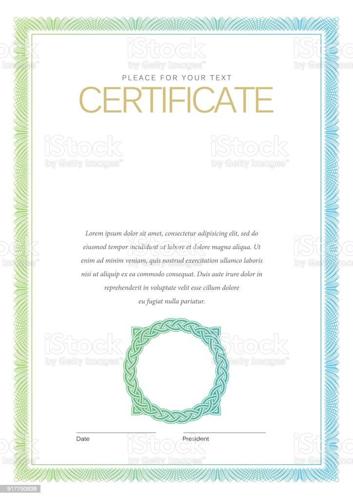 Blank Stock Certificate Template from media.istockphoto.com