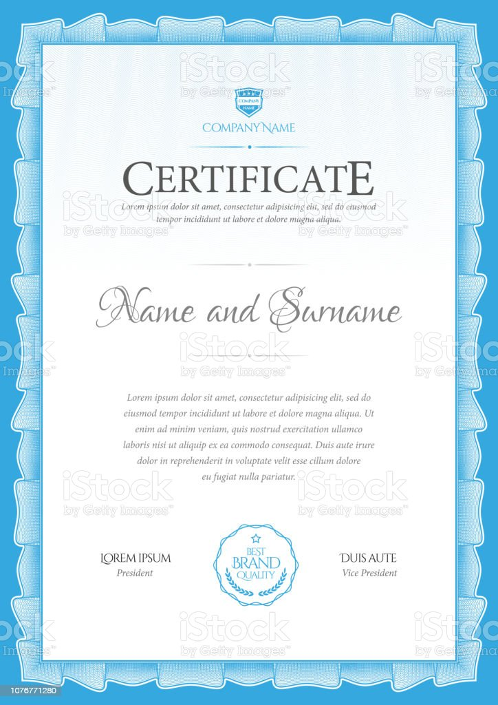 Downloadable Stock Certificate Template from media.istockphoto.com