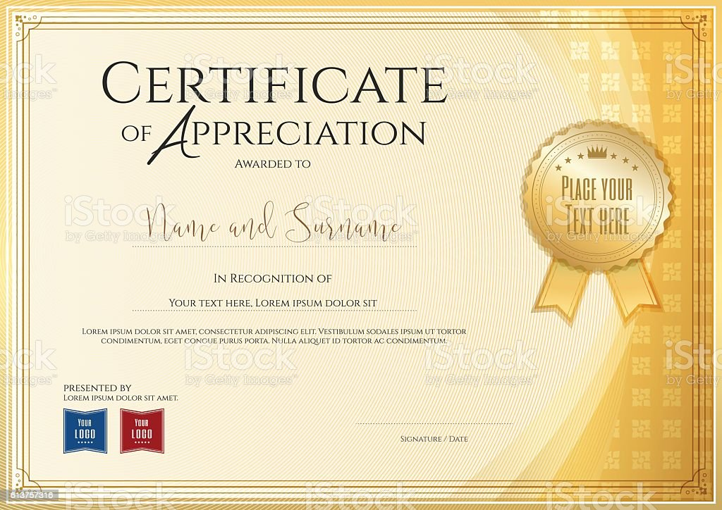 Certificate template for achievement appreciation or completion certificate template for achievement appreciation or completion certificate template for achievement appreciation or yelopaper Choice Image