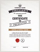 Certificate template to build your own