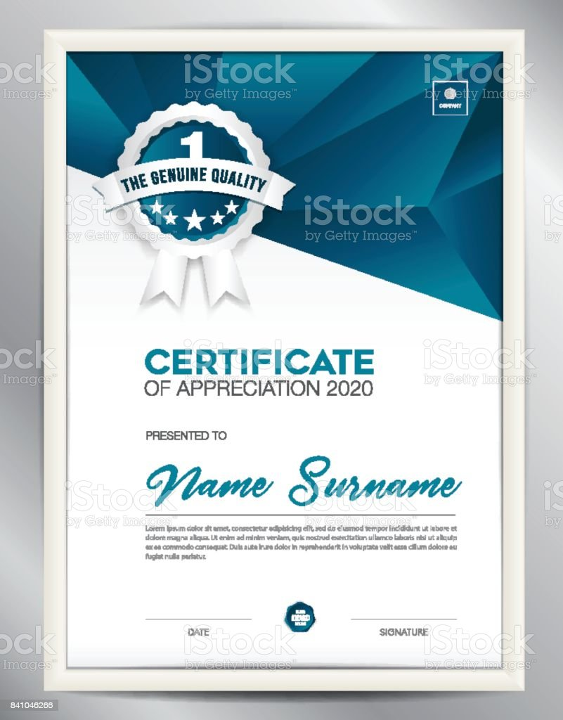Certificate template vector illustration diploma layout in a4 size certificate template vector illustration diploma layout in a4 size business flyer design advertisement xflitez Image collections