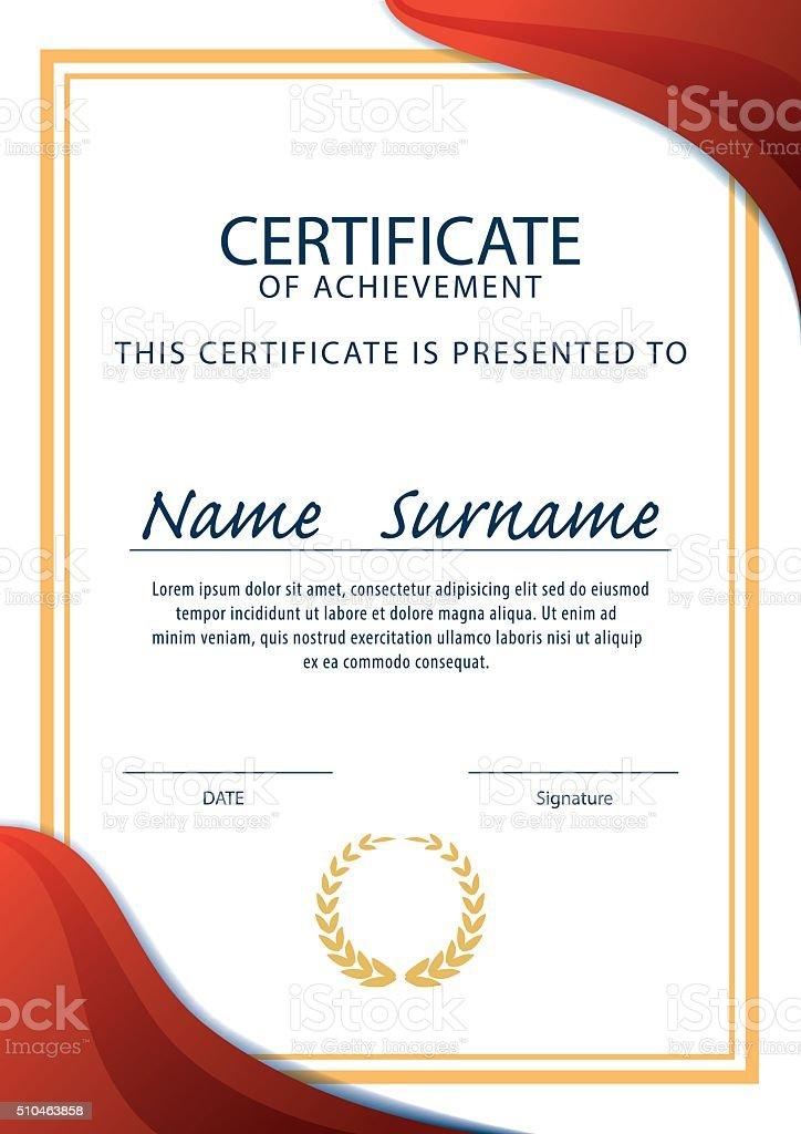 Certificate templatediploma layouta4 size vector stock vector art certificate templatediploma layouta4 size vector royalty free certificate templatediploma layouta4 yadclub Choice Image