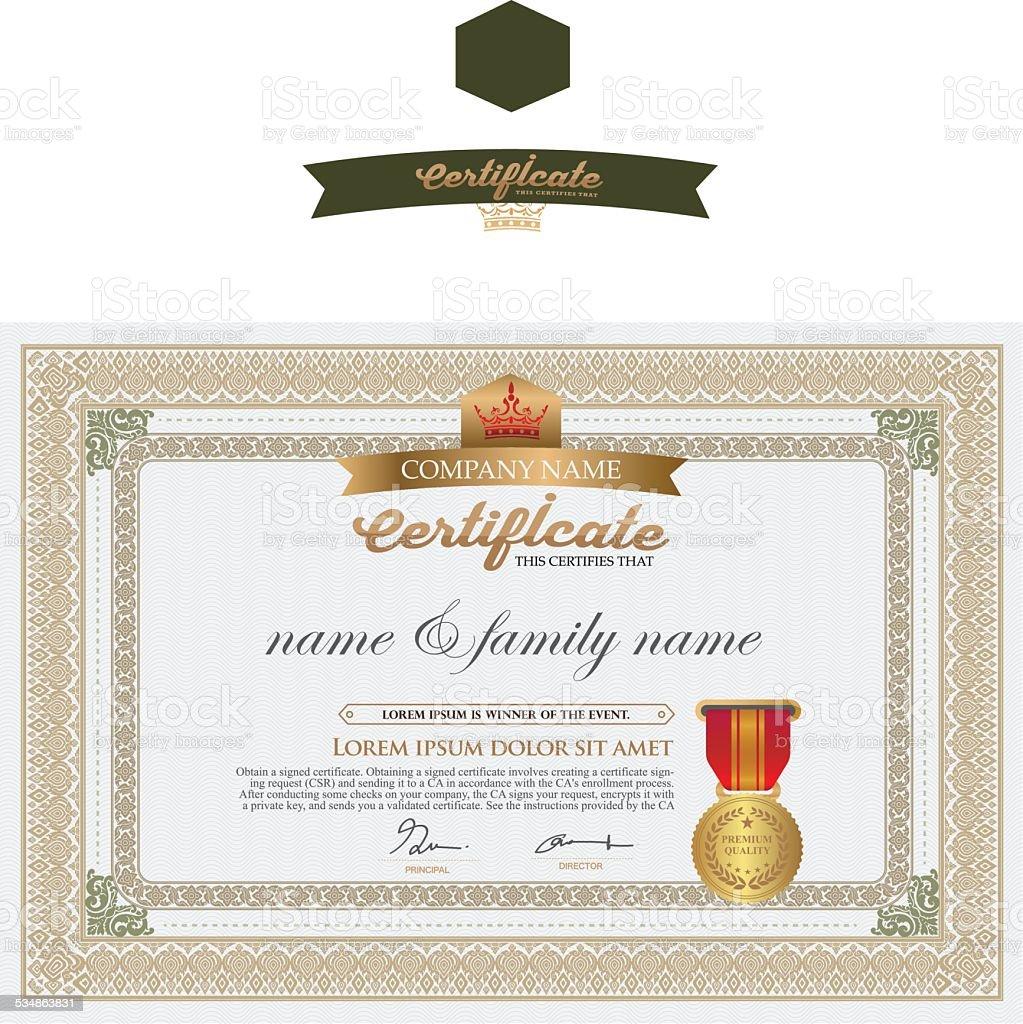 Ausgezeichnet Zertifikatsvorlage Erstellen Ideen - Entry Level ...
