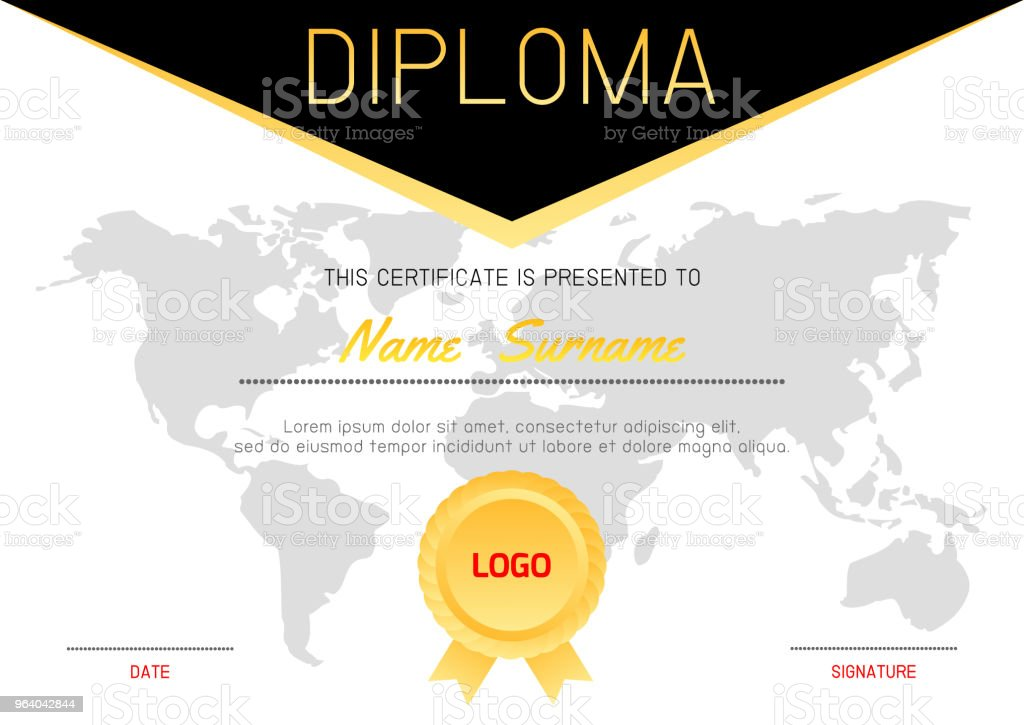 certificates kindergarten and elementary preschool kids diploma certificate pattern design template diploma template for