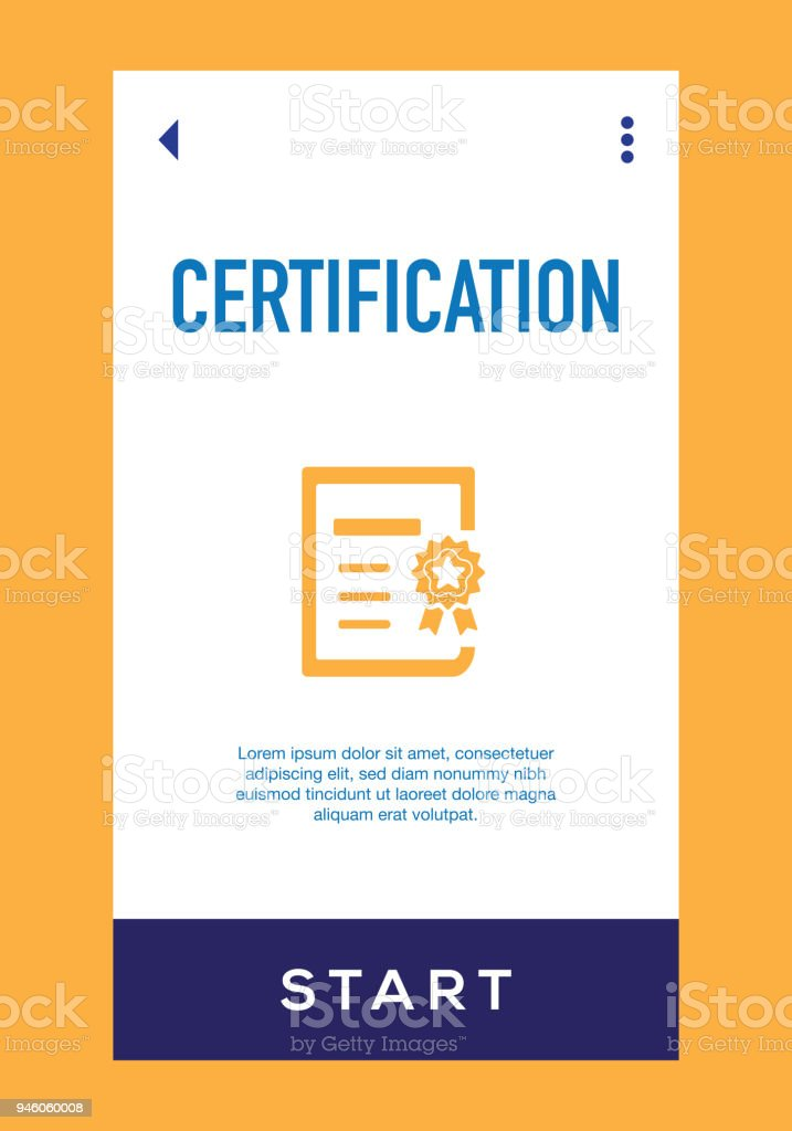Certification Icon Stock Vector Art & More Images of Achievement ...