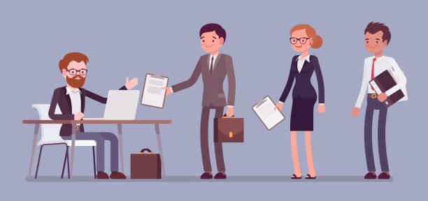 illustrations, cliparts, dessins animés et icônes de acte officiel de certification - notaire