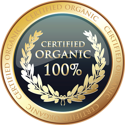 Certified Organic Gold Award