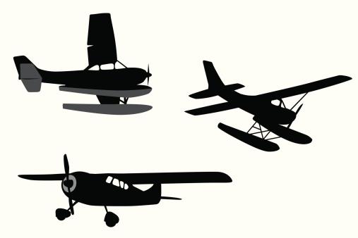 Cessna Vector Silhouette