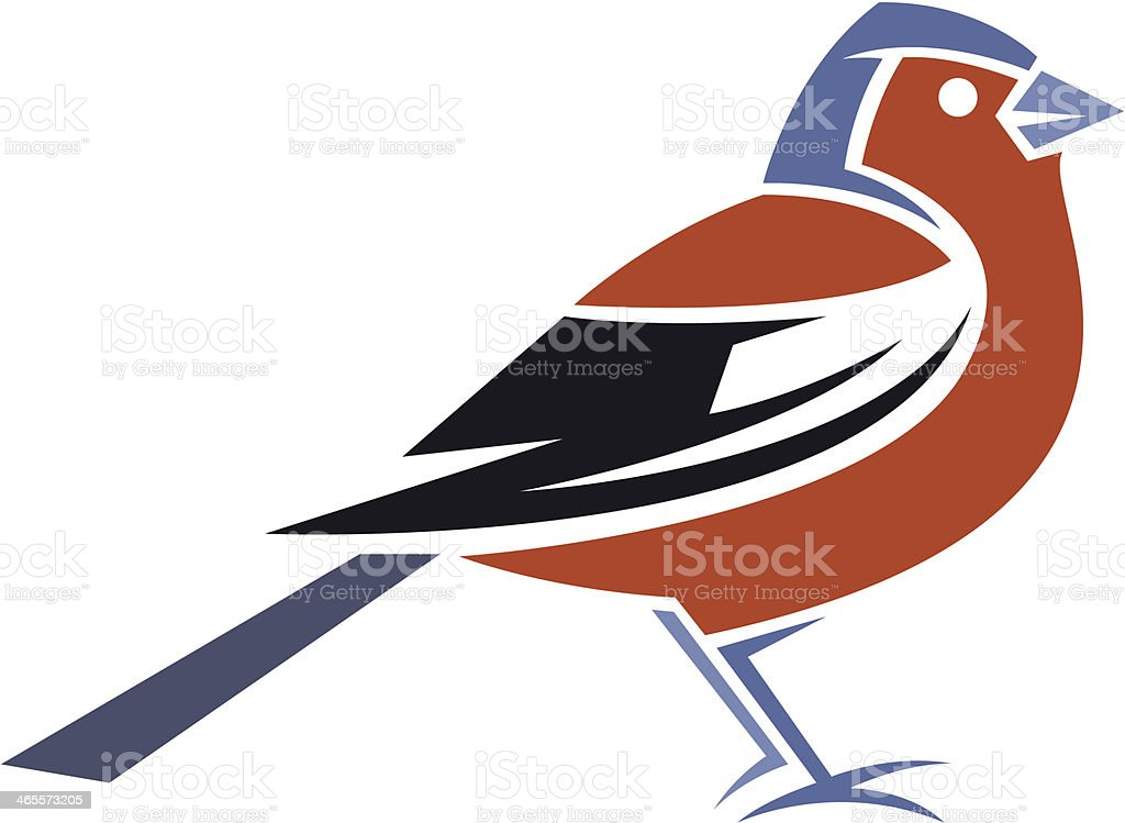 Chaffinch royalty-free stock vector art