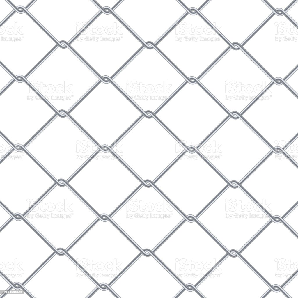 Chain Link Fence Background Industrial Style Wallpaper Realistic ...