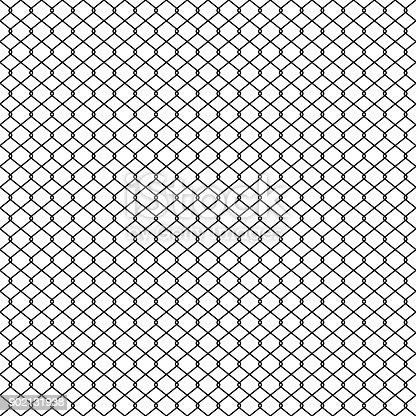 Kettenglied Zaun Geflecht Draht Zaun Textur Nahtlose Muster Vektor ...