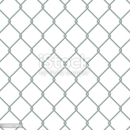 Chain Link Fence Vector In Chain Link Fence Stock Vector Art u0026 More Images Of Barbed Wire 1033872800
