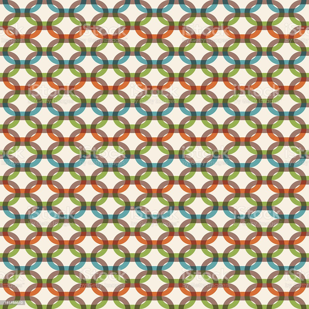chain link pattern royalty-free stock vector art