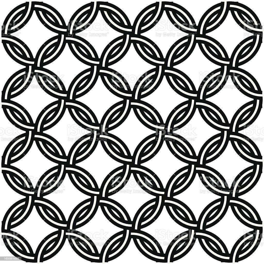 Chain Mail Seamless Design Tattoo Stock Vector Art More Images Of