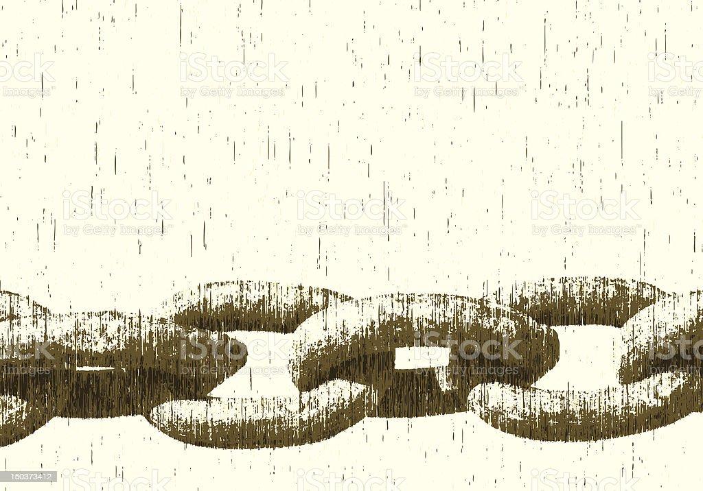 Chain royalty-free stock vector art
