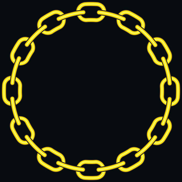 Best Gold Chain Illustrations, Royalty-Free Vector ...  Chain Vector