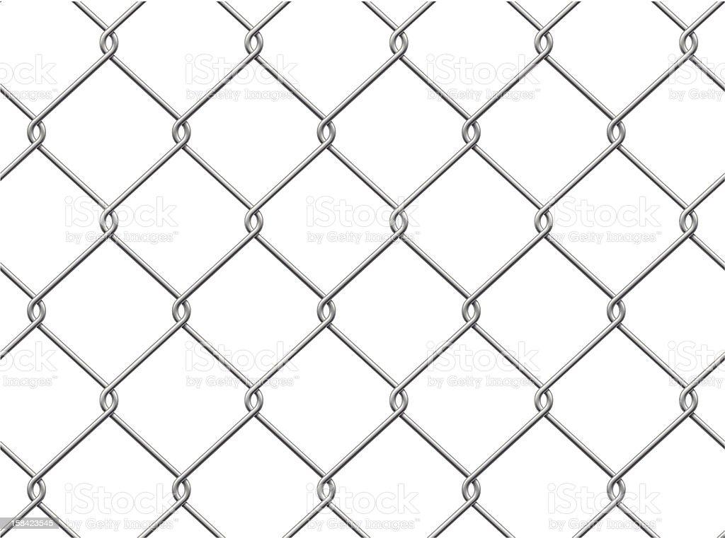 Maschendrahtzaun Nahtlose Muster Stock Vektor Art und mehr Bilder ...