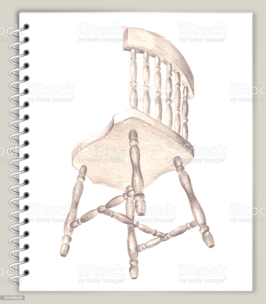 Chair drawing on art sketcbook royalty free vector art stock vector chair drawing on art sketcbook royalty free vector art royalty free chair drawing on art malvernweather Image collections