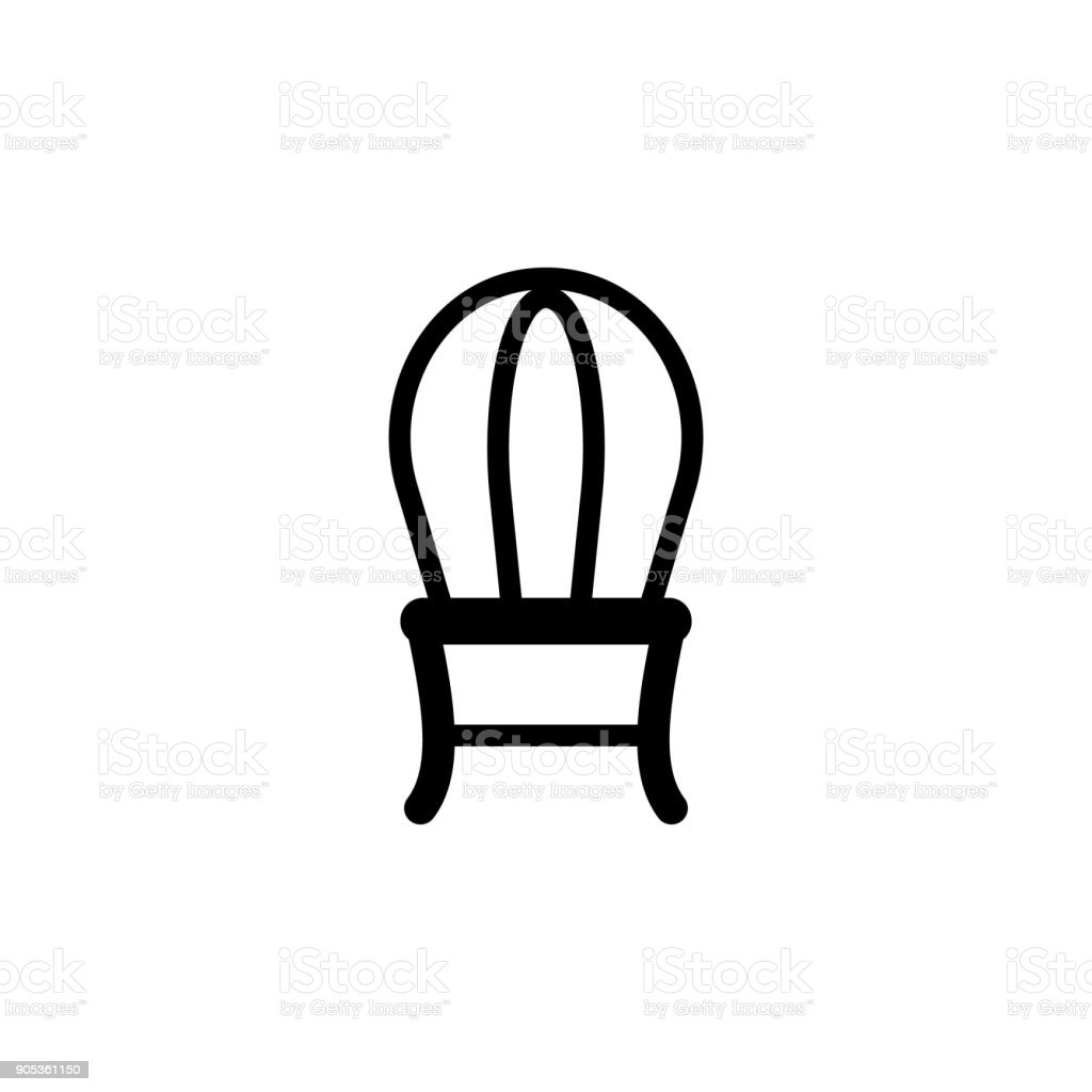 Chair Icon Elements Of Furniture Icon Premium Quality Graphic Design