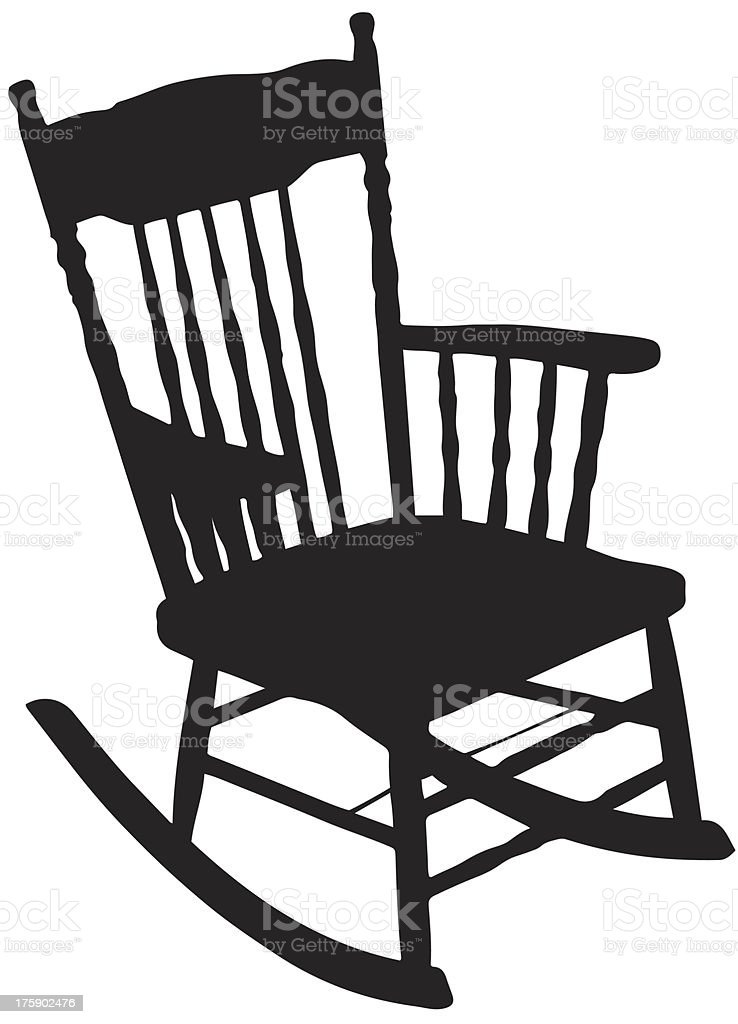rocking chair silhouette. Unique Silhouette Chair Silhouette Royaltyfree Chair Silhouette Stock Vector Art U0026amp More  Images Of Back On Rocking