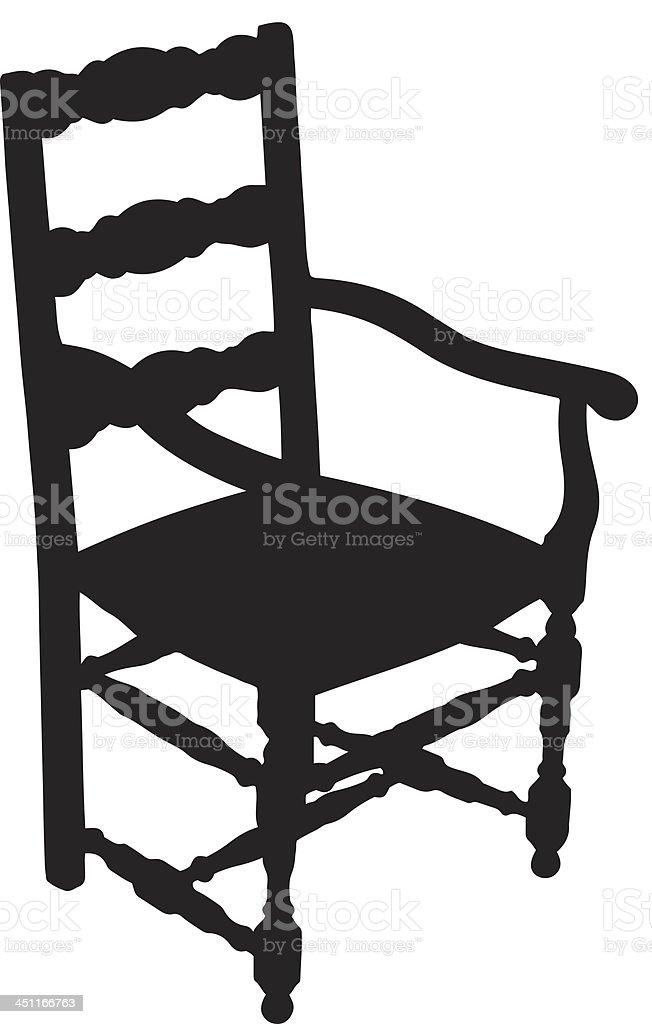 Stuhl Silhouette Stock Vektor Art Und Mehr Bilder Von