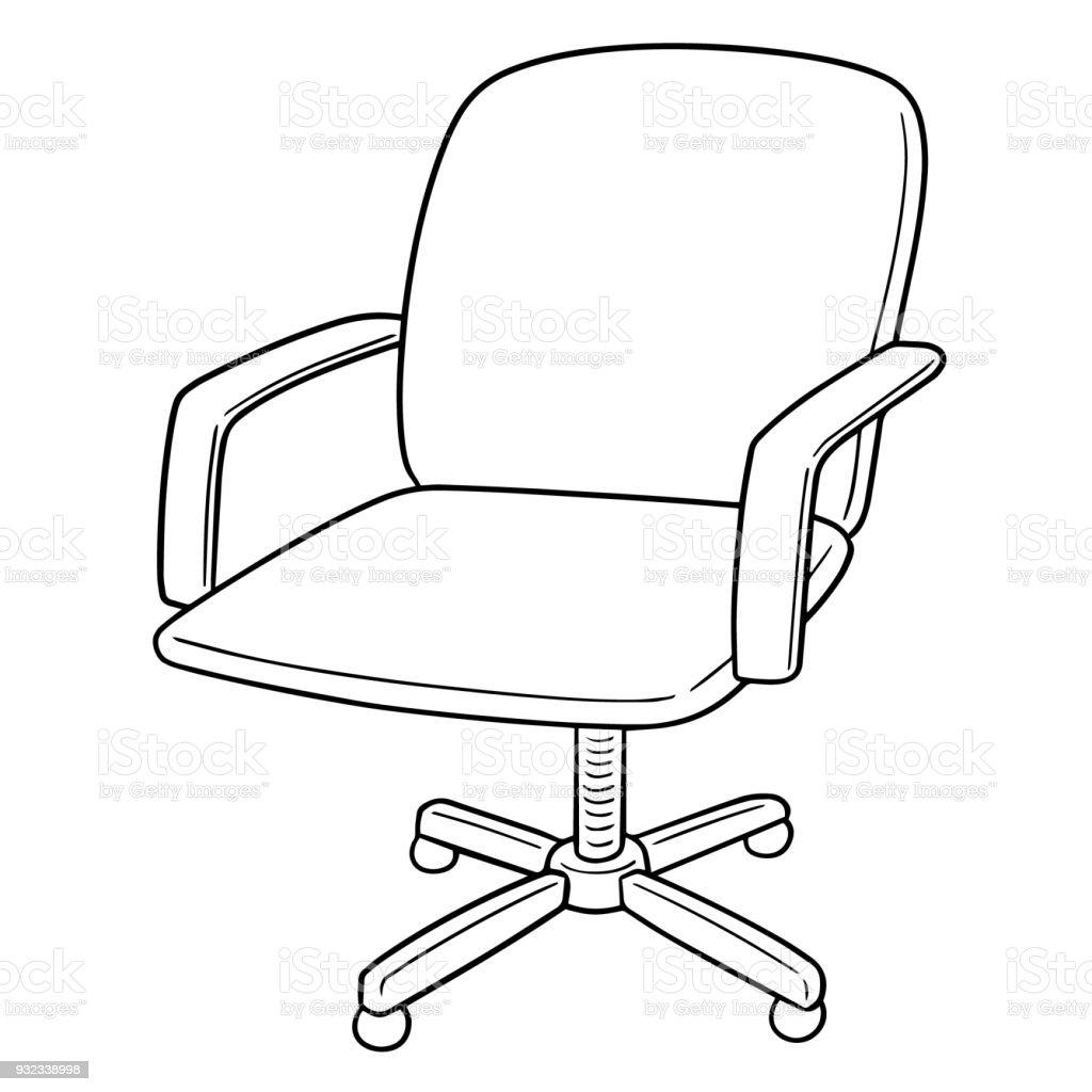 Bürostuhl comic  Chair Stock Vector Art & More Images of Art - iStock