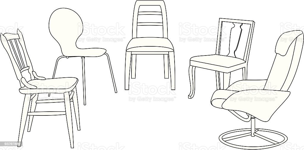 chairs in therapy royalty-free chairs in therapy stock vector art & more images of chair