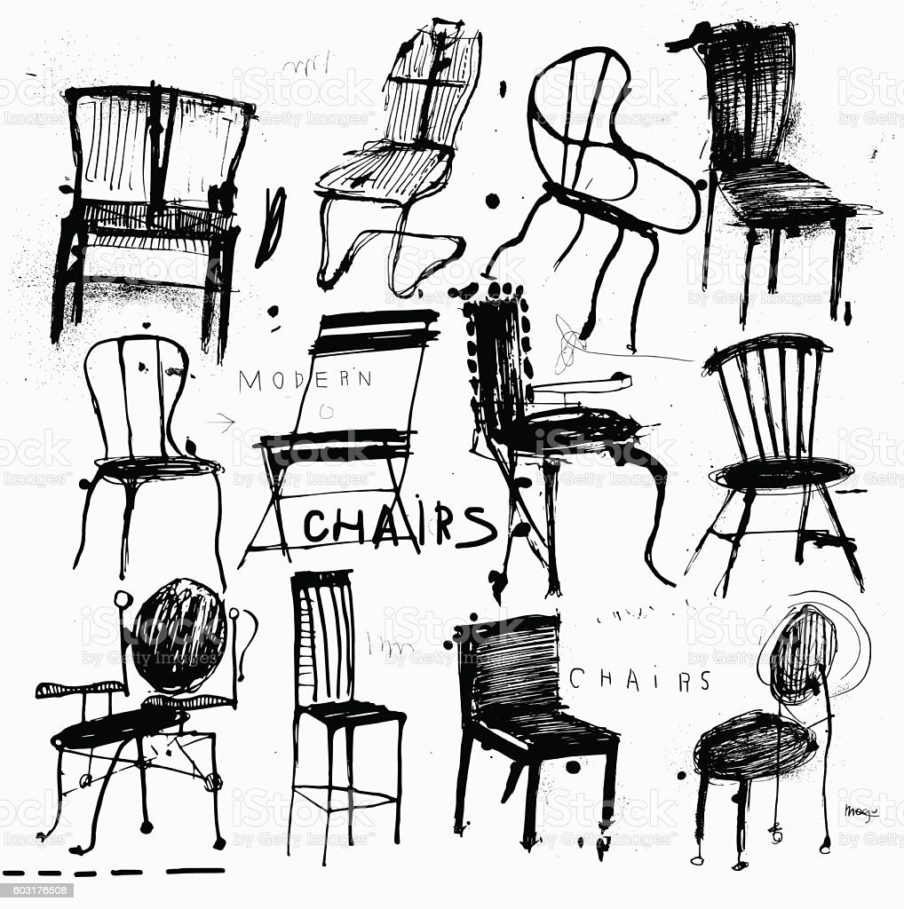 Chairs Stock Illustration - Download Image Now - iStock