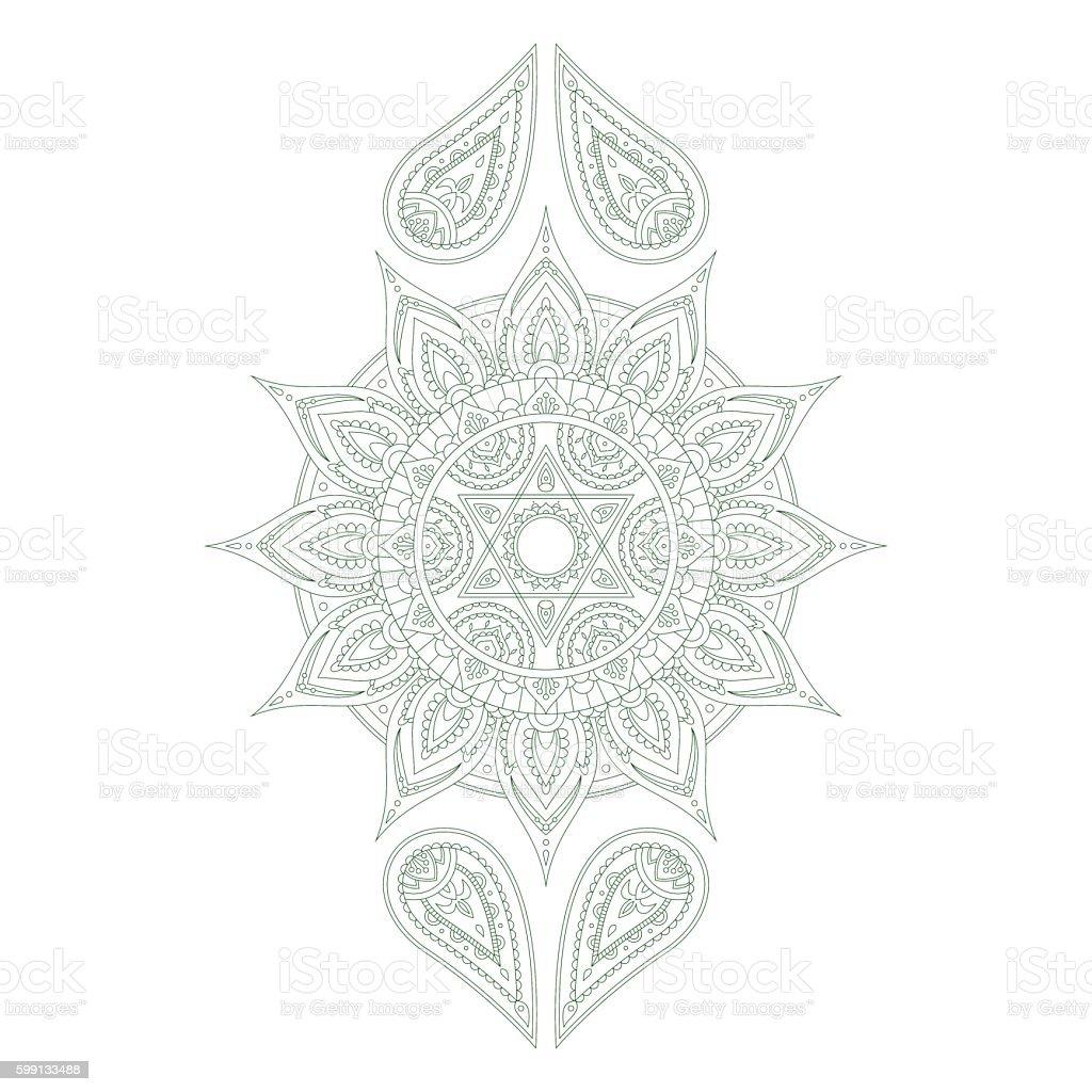 Chakra Anahata Vector Stock Illustration - Download Image