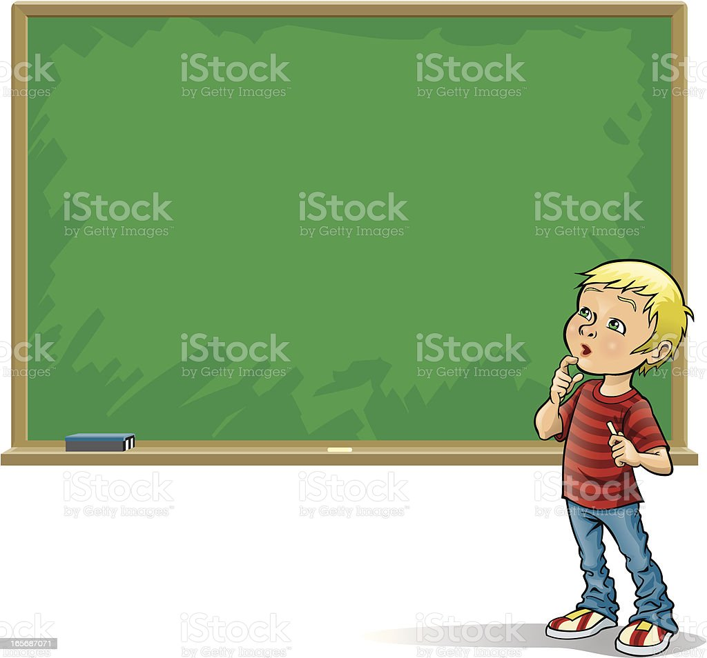 Chalk Board royalty-free chalk board stock vector art & more images of back to school