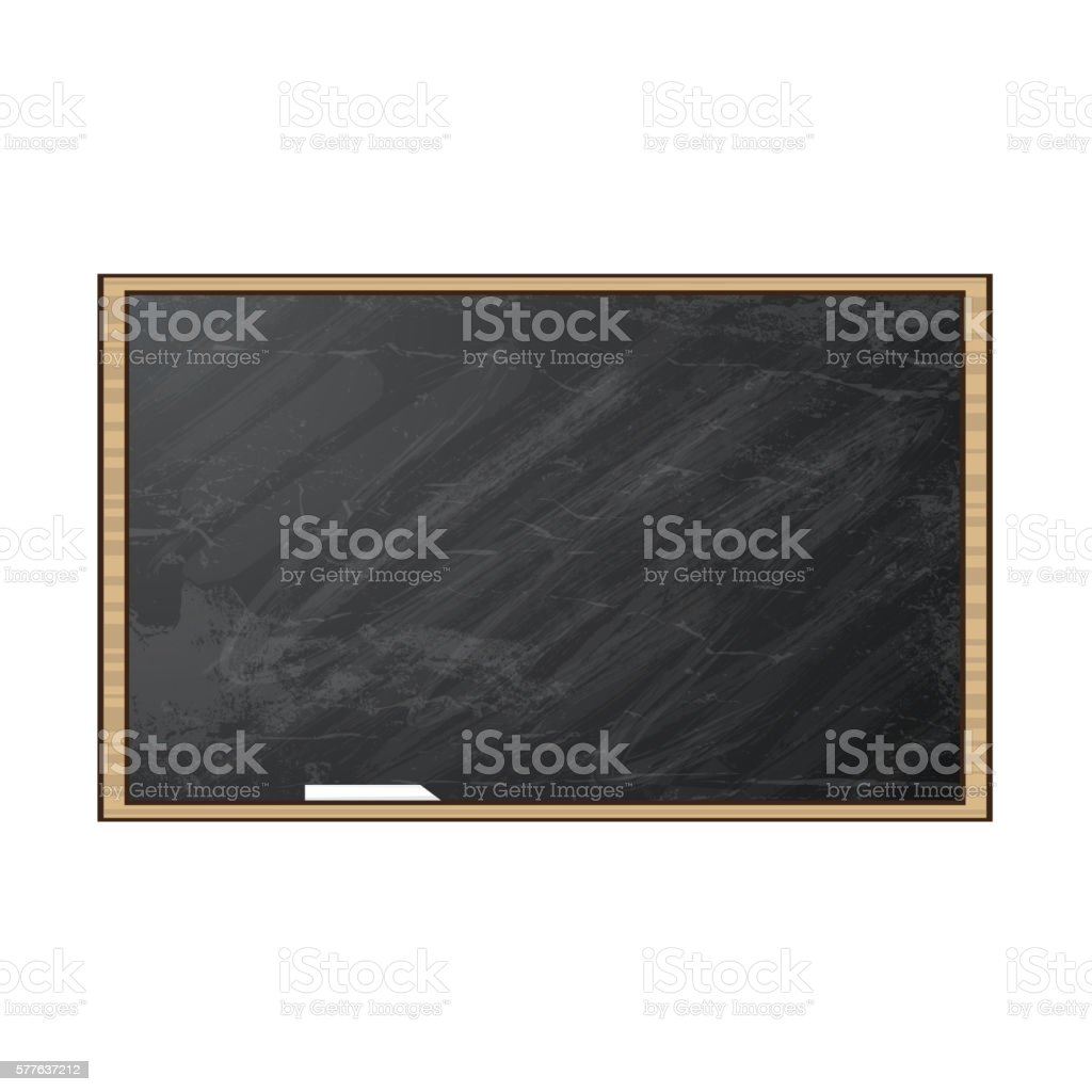 Chalk board. Vector illustration. - Illustration vectorielle