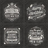 Chalkboard Christmas Cards