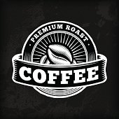 A collection of coffee-themed, chalkboard design elements. EPS 10 file, with transparencies (overall layer effects only), layered & grouped.