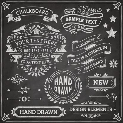 Chalkboard Design Elements