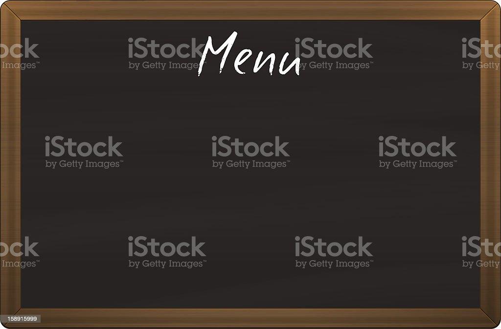 Kreidetafelspeisekarte Stock Vektor Art und mehr Bilder von ...