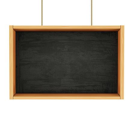Chalkboard on Ropes